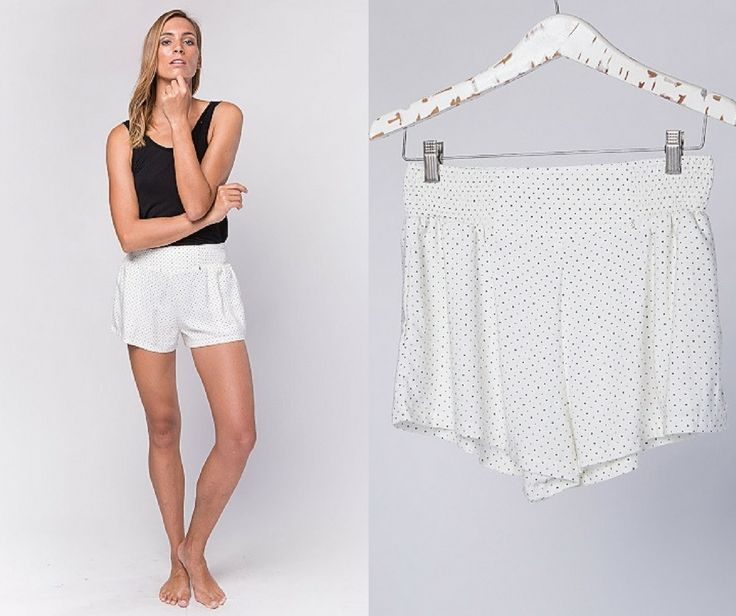 Claire Pants / Ivory Dots $59.90 AUD | #buddhawear  #ethical #fashion #womenswear #summer #ss16