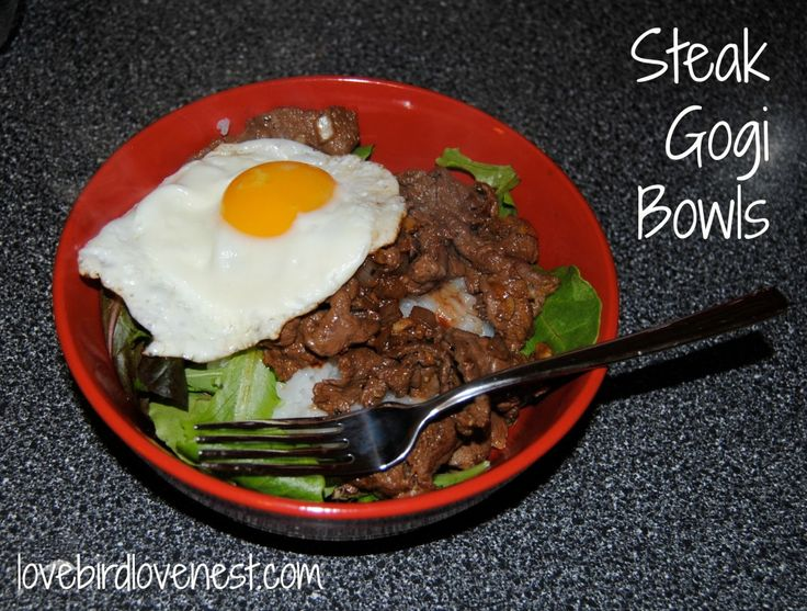 Copy Cat Recipe for Gogi Bowls