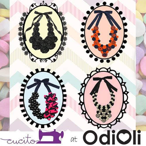 Sweet selection to brighten your day from CUCITO at www.odioli.com