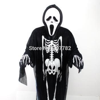 Страшные костюмы скелетов