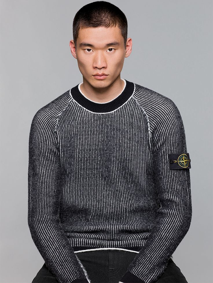 Stone Island AW '017 '018 _ 580D1 Reversible Knit on stoneisland.com