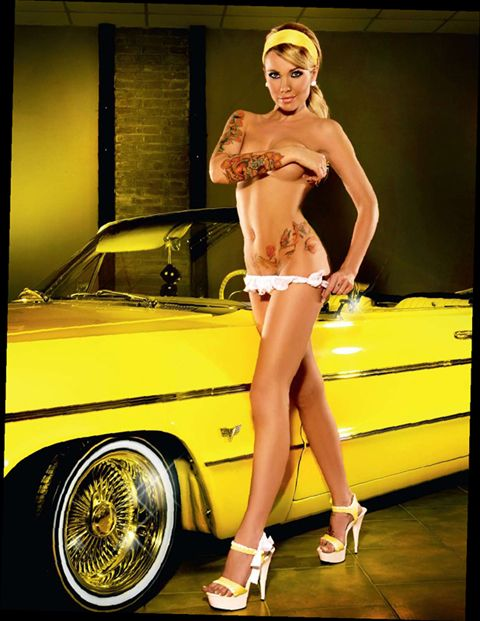 15 Best Lowrider Pinups Images On Pinterest  Car Girls -8908