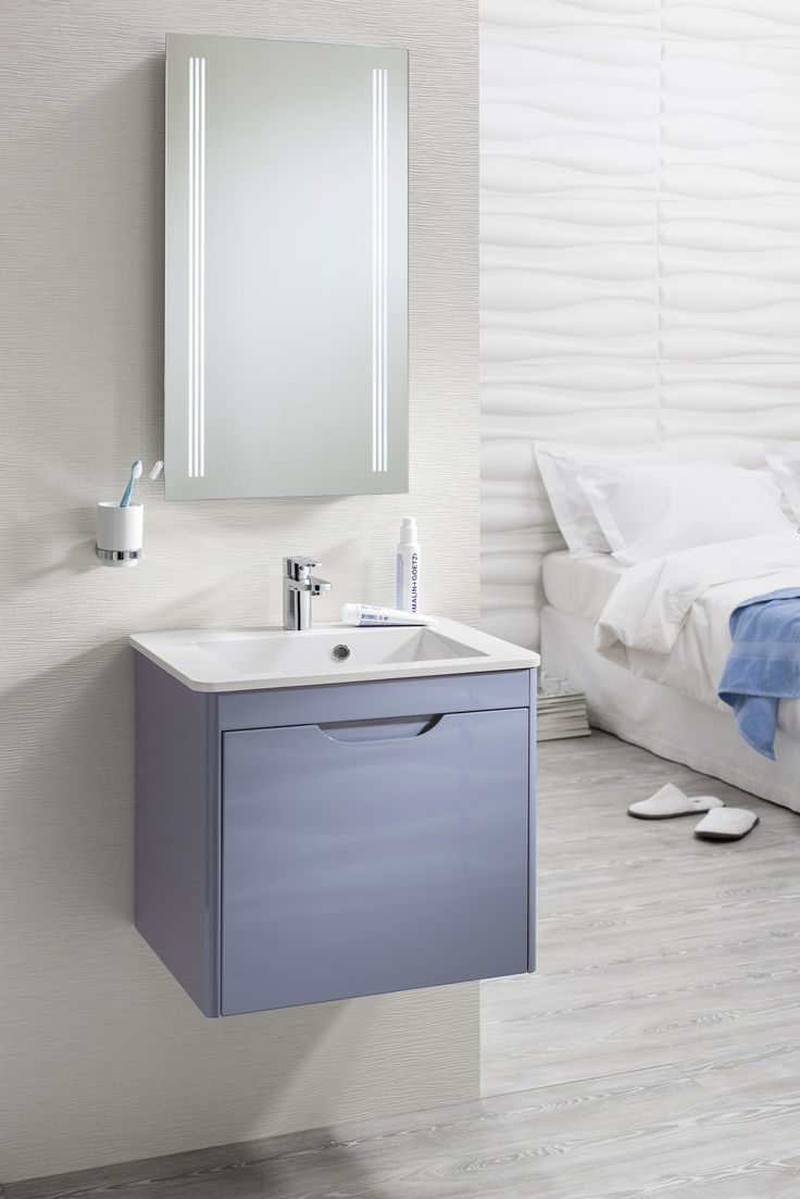 shades bathroom furniture uk%0A For an injection of colour in the bathroom  the new Azure glossy finish is a