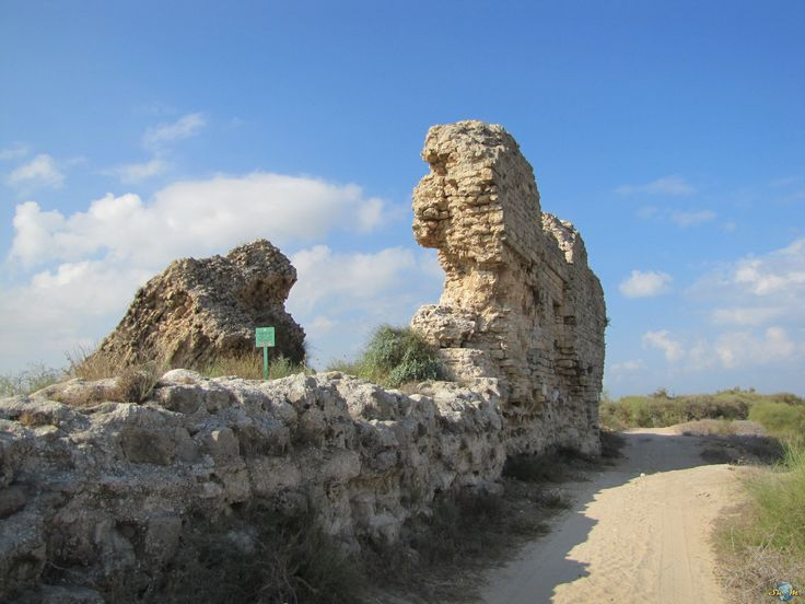 https://flic.kr/p/NFRw88 | Ashkelon National Park | Ashkelon National Park is an Israeli national park along the shore of the Mediterranean sea southwest of the city of Ashkelon. The national park is situated in the heart of ancient Ashkelon. It is surrounded by a wall built in the mid-12th century by the Fatimid Caliphate. The wall was originally 2,200 meters in length, 50 meters in width and 15 meters in height. The remains of the wall are located in the eastern and southern parts of the…