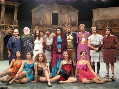 Una Gran Comedia Romana - Teatro Peruano Japonés - Lima (2009)