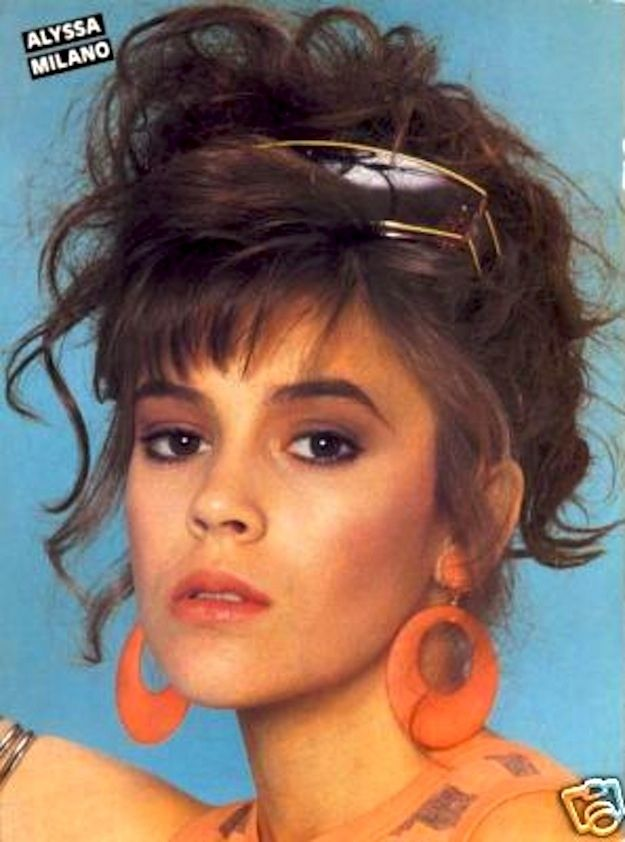 """<b>It is clear that Alyssa was """"The Boss"""" of all teenybopper magazines in the '80s and '90s.</b> You need to see these outfits to believe them."""