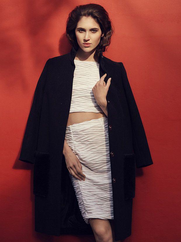 Top and skirt by Aleksandra Mirosław