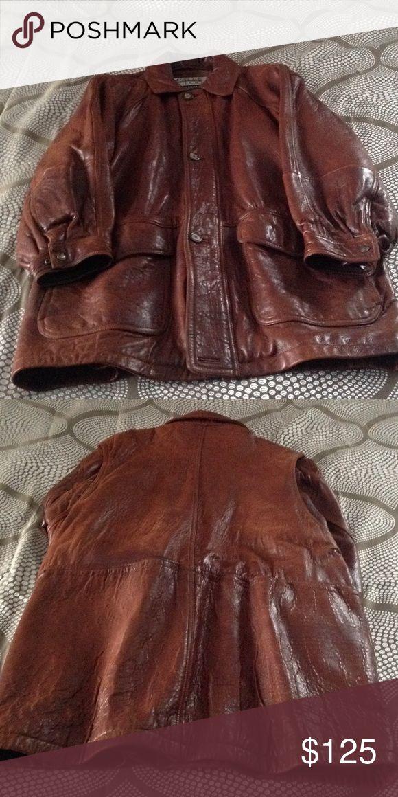 Men's Ostrich Skin Leather Coat Pelle Studio PELLE PELLE Jackets & Coats Pea Coats
