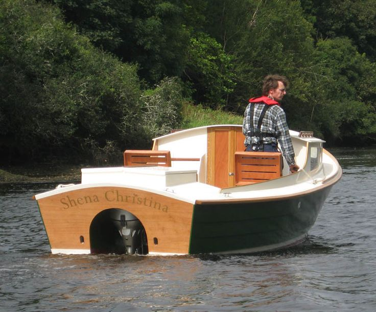 Roeboats are delighted to offer you Ninigret a 22'motor boat designed by John Atkin. The ...