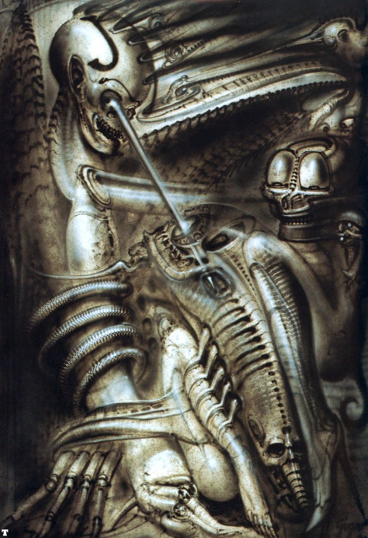 Jugith by H. R. Giger