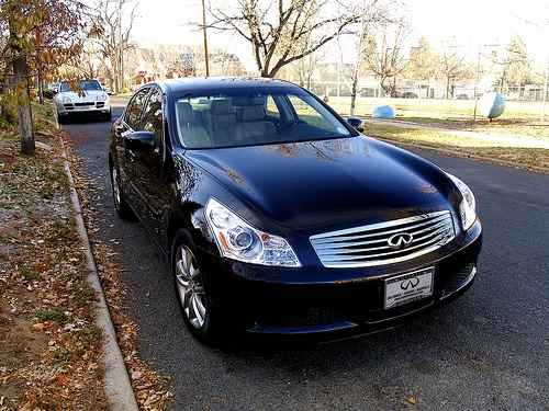 """Infiniti G35X... Smooth and quick with all the """"bells and whistles""""... This was my 25th new car, complete with nav. and AWD... 0-60 in 5.6 secs... This was a quality product that came with fantastic dealership service...Quality Products, Dreams Garages, Dealership Service, Infinity G35X, Gorgeous Cars, Fantastic Dealership"""