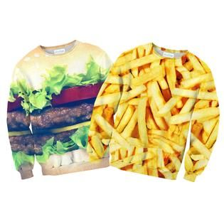 """""""The only thing that goes together better than a burger and fries is you and your BFF!"""""""