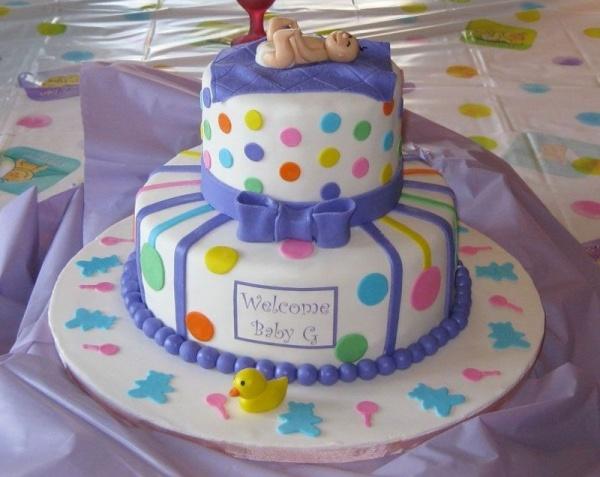 Baby Me Baby Shower Theme Cake