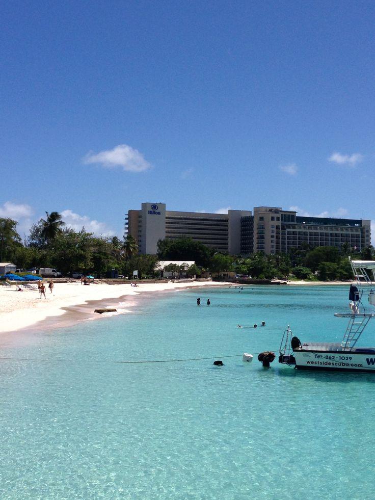 Hilton Barbados has got a killer beach
