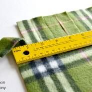 EASY Ragged Baby Blanket Tutorial | Simple Simon and Company