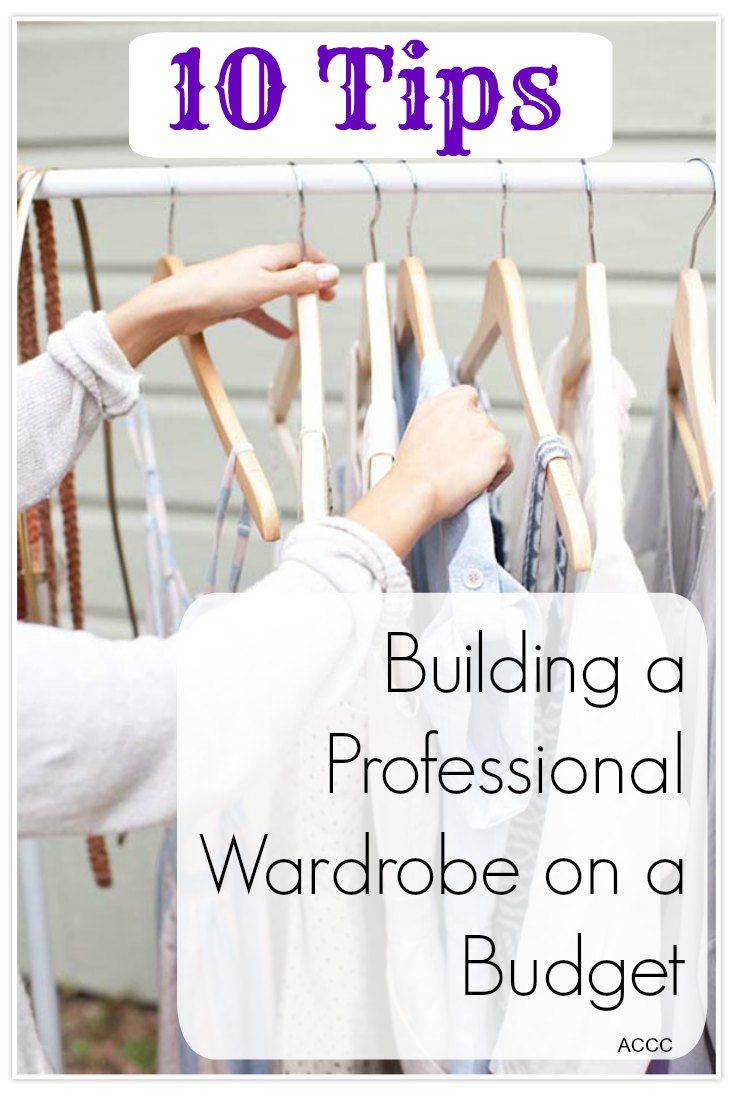 Need a more professional wardrobe for your new job? here are 10 tips to help you stay on budget and avoid credit card debt when shopping for work clothes.