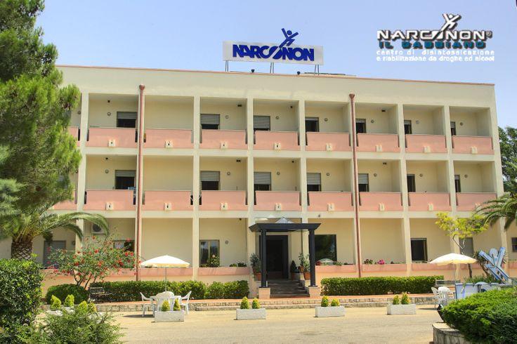 La struttura del Centro Narconon Il Gabbiano è un ex-albergo dotato di tutti i conforts