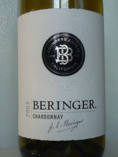 Chardonnay Showdown-Beringer - Wine on the Dime