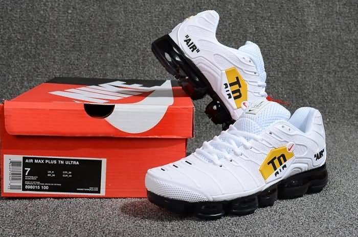 91f1a15c8f Cheap Nike Air Max PLUS TN ULTRA VaporMax 2018 Mens shoes White Black