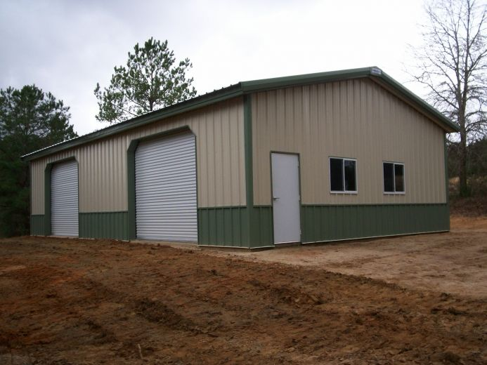30 x 50 x 12 3 12 garage with 2 10 x 10 commercial for 12 x 48 window