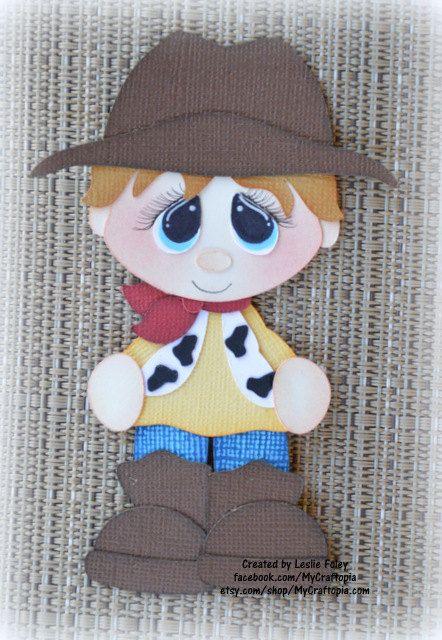 Disney Woody Toy Story Premade Scrapbooking adorno por MyCraftopia