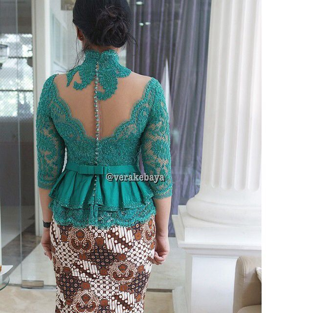 #backdetail Kebaya by vera kebaya