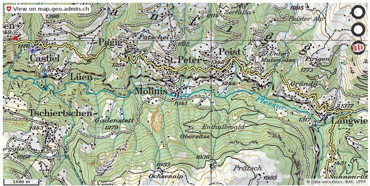 Arosa GR Kultur Ortsschutz ortsbild zdf http://ift.tt/2tgQK1L #dataviz #schweiz