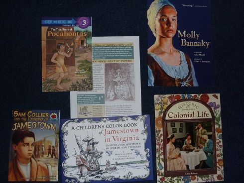 Books I'd Recommend for the Study of Jamestown Colony - Homeschool Den