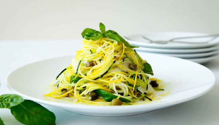 Loveurbelly Zoodles with Capers