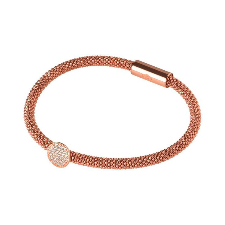 Links of London - Star Dust Rose Gold /Cz Bracelet