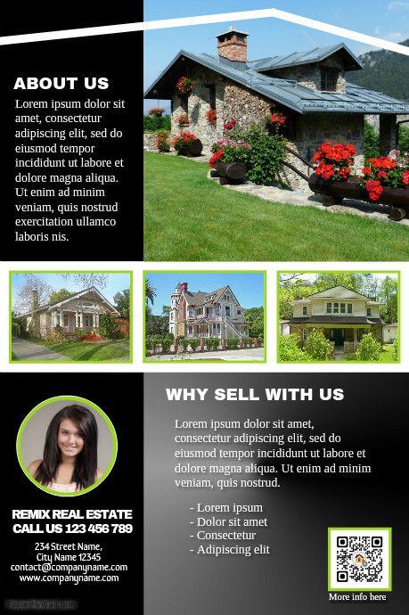 116 best real estate flyer  diy  images on pinterest
