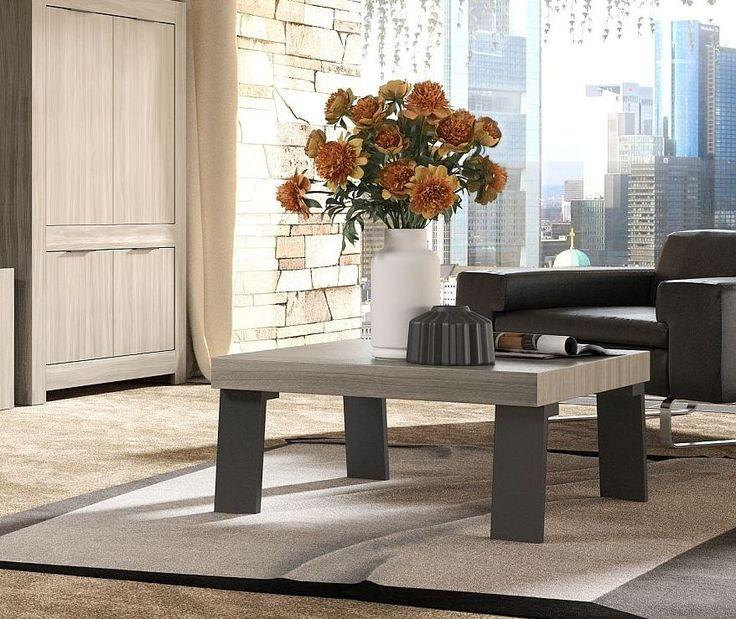 Couchtisch Raucheiche Caracalla Metallfsse Woody 12 01352 Holz Modern Jetzt Bestellen Unter Moebelladendirektde Wohnzimmer Tische
