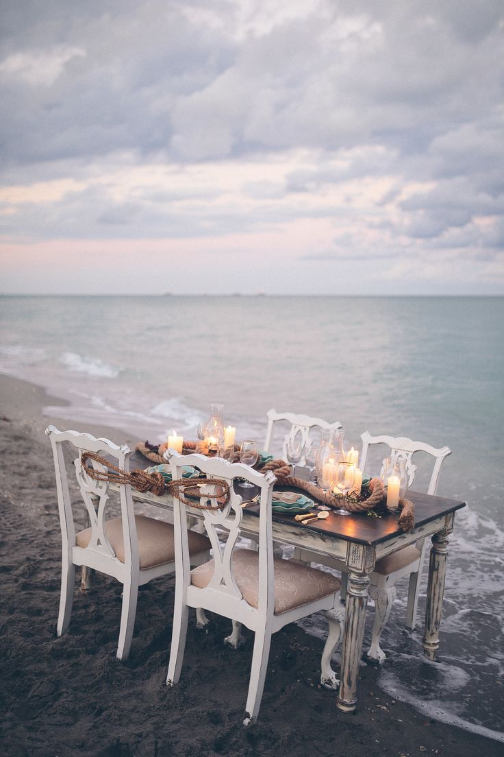 Photography: Daniel Lateulade Photography - daniellateulade.com Read More: http://www.stylemepretty.com/2014/07/08/romantic-seaside-wedding-inspiration/