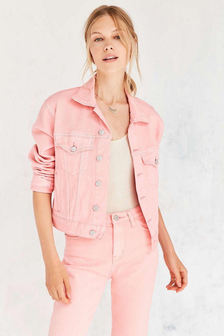 BDG Monochrome Girlfriend Trucker Jacket