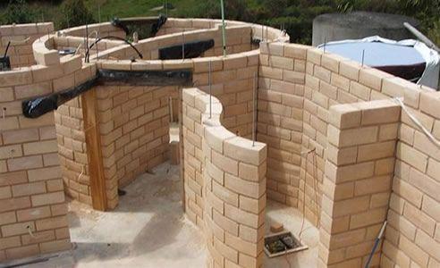 timbercrete house construction