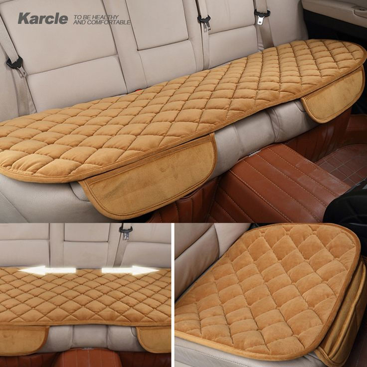 Karcle 1PCS Universal Plush Car-covers Thickening Velvet Car Cover Protector Car-styling Seat Cushion Automobiles Accessories