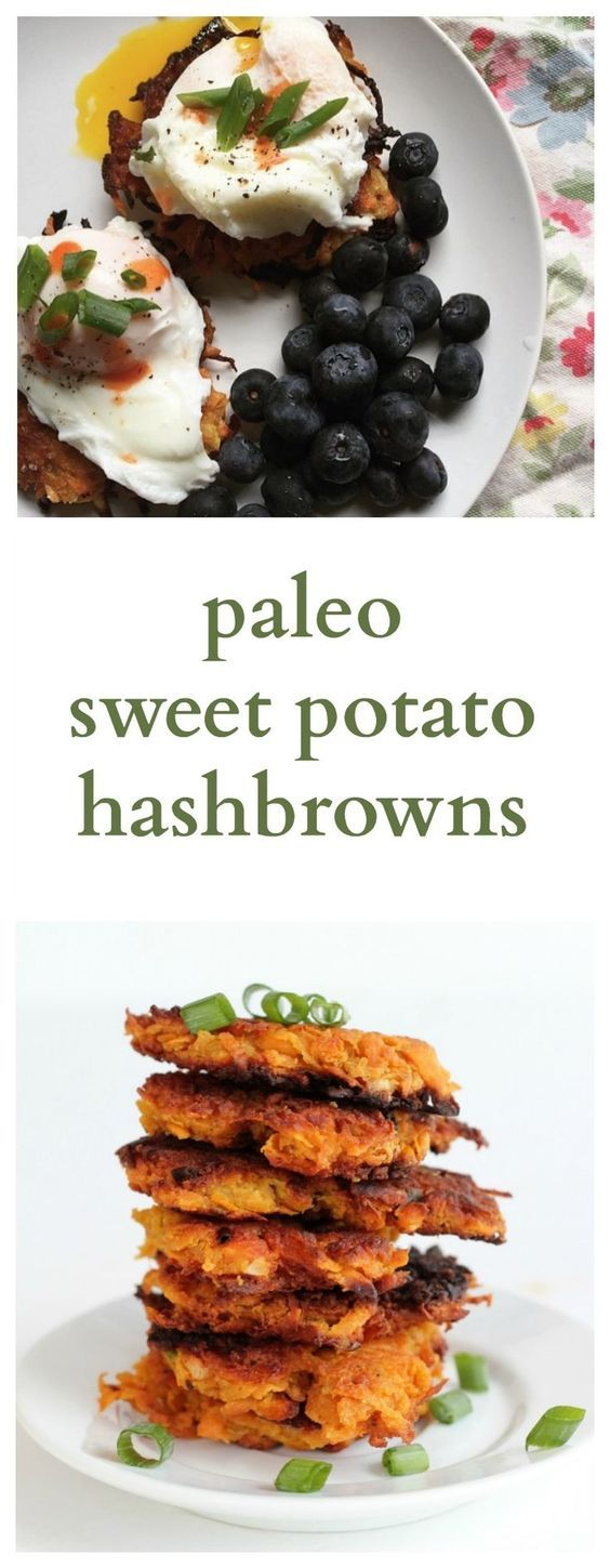 "Paleo Sweet Potato Hash Browns. These are to die for! Tried and tested by many and said to be ""the best paleo hash brown recipe""."