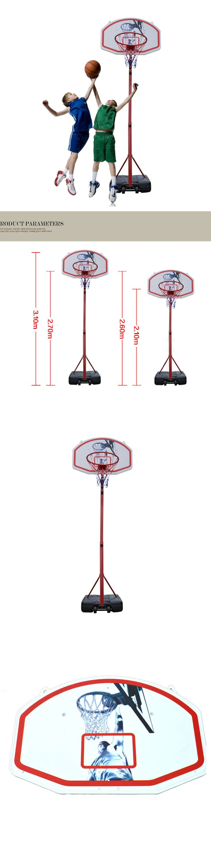 Backboard Systems 21196: Indoor Outdoor Sports Children Kids Youth Portable Basketball Hoop System Stand -> BUY IT NOW ONLY: $99.98 on eBay!