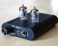 Little Bear Little bear P2-1 BLACK color HiFi valve tube headphone amplifier amp