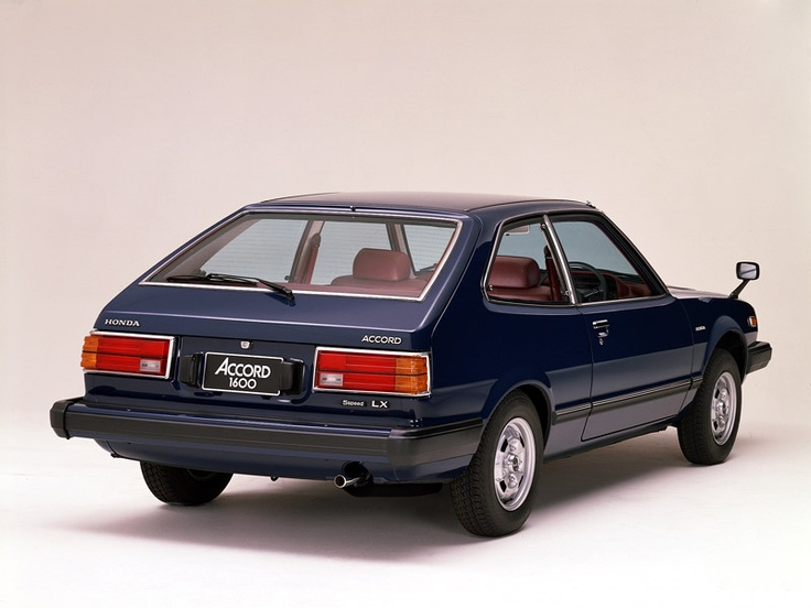 1976 Honda Accord H/B