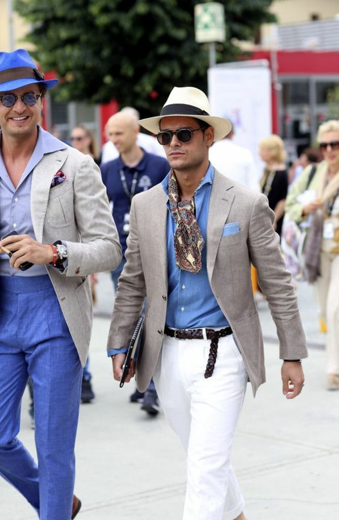 Tendance mode italienne homme