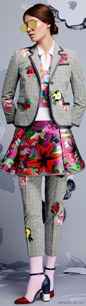 Thom Browne Resort 2015 | This is for real, people!!!