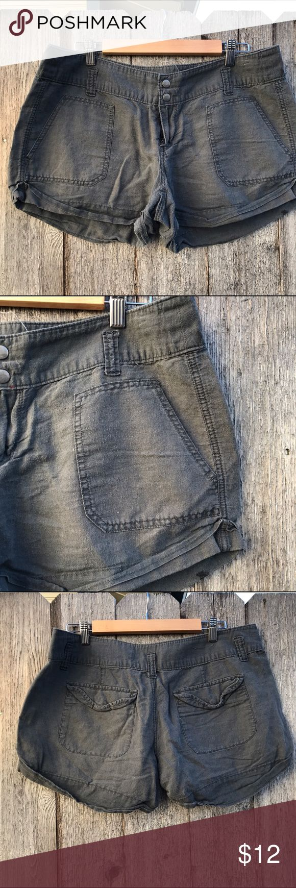 Comfortable Gray Shorts Comfortable gray / charcoal shorts. These are great addition to any closet Converse Shorts