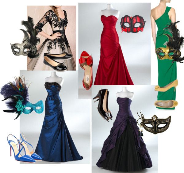 """Mascarade Ball"" by izzydaughtry on Polyvore"