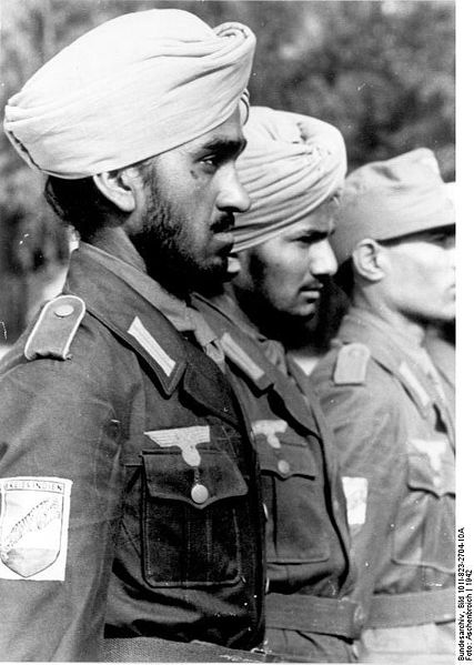 Indian Wehrmacht volunteers - Indische Legion (1942, location unknown)