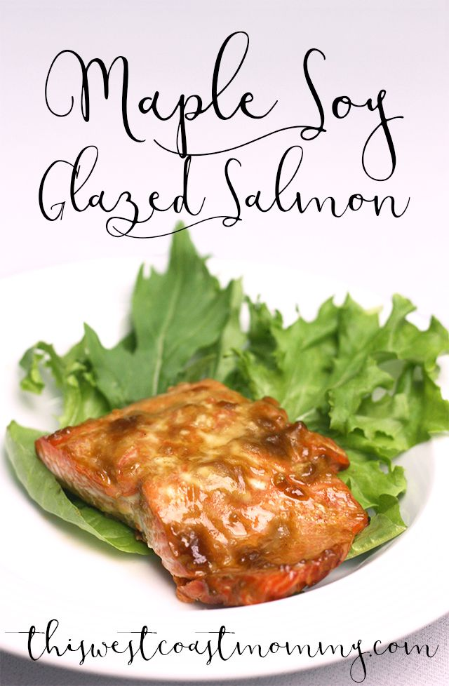 West coast living at its finest! Wild sockeye salmon grilled in a simple glaze…