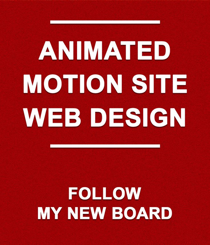 https://www.pinterest.com/vehichi/animated-motion-site-web-design/  Follow my new board Animated | Motion Site | Web Design