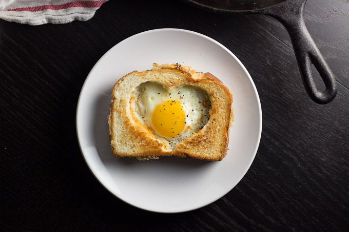 Egg in a Grilled Cheese Basket   Happy Friday | http://www.gingerandtoastedsesame.com/egg-grilled-cheese-basket-happy-friday/