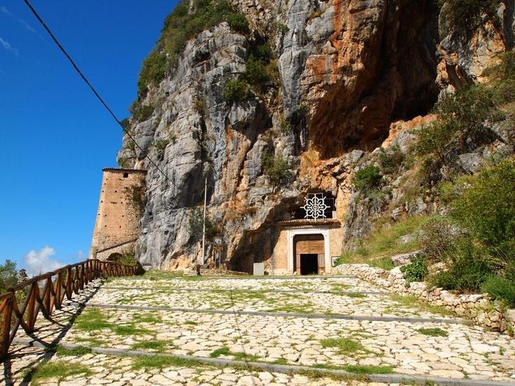 Grotta di S. Michele Arcangelo a S.Angelo a Fasanella  Costa di Cilento, Southern Italy