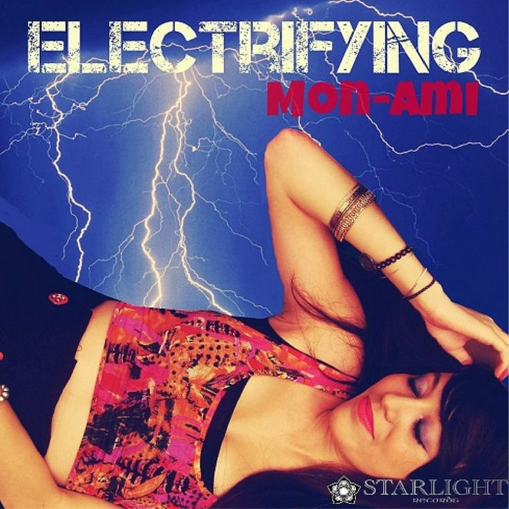 Artwork for debut single - Electrifying
